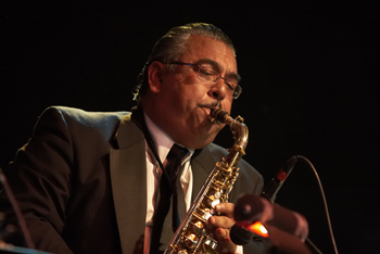 Junius Courtney Big Band - Andres Soto-alto Sax